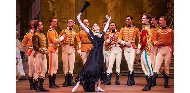 TAB The Merry Widow Lana Jones and artists of The Australian Ballet - photo by Daniel Boud AAR
