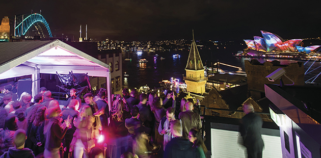 Vivid Sydney 2017, Cake Wines Cellars presents Pie In The Sky - photo courtesy of Destination NSW