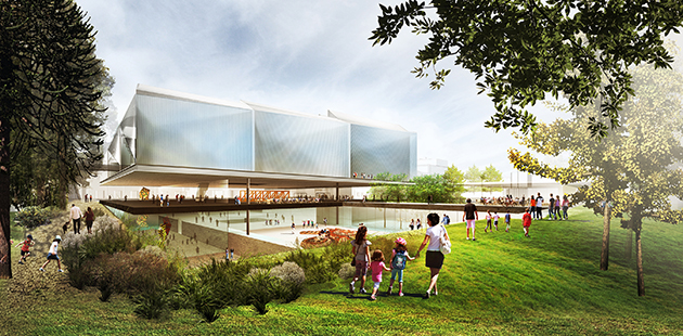 Adelaide Contemporary winning design concept