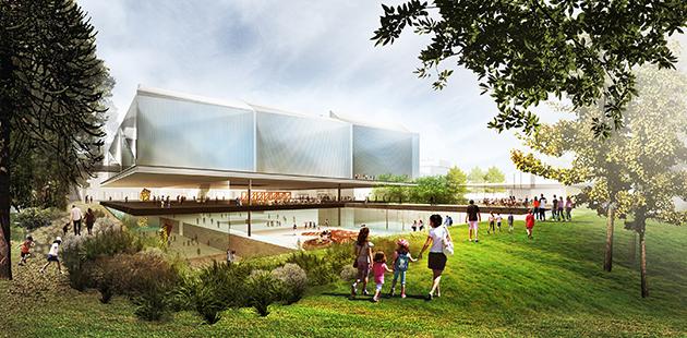 Adelaide Contemporary winning design concept