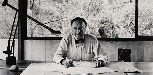 MGA David Moore, Harry Seidler, Killara, Sydney 1984 (detail)