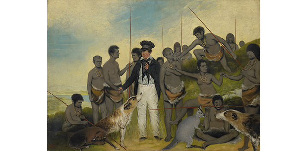 NGA Benjamin Duterrau, The conciliation 1840
