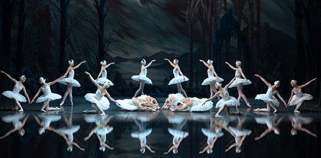 St Petersburg Ballet Theatre Swan Lake Corps de ballet