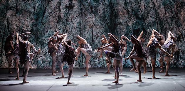 Bangarra Dance Theatre presents Dark Emu - photo by Daniel Boud