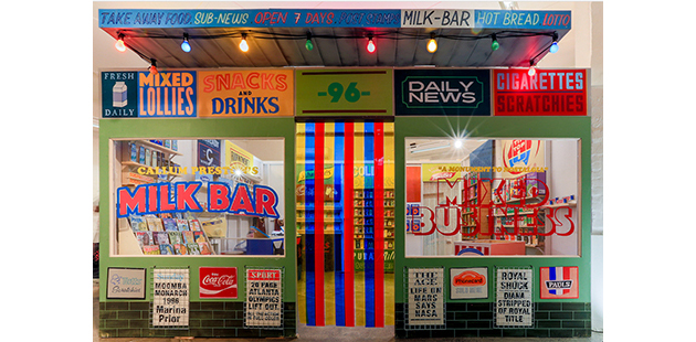 Hamilton Gallery Callum Preston's Milk Bar