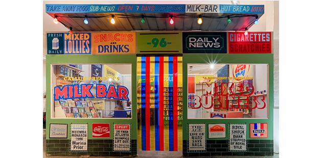 Hamilton Gallery Callum Preston's Milk Bar
