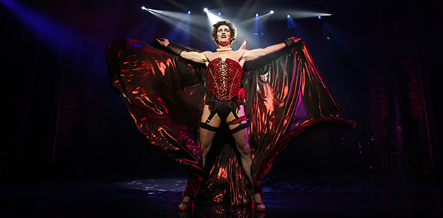 Rocky Horror Show Todd McKenney - photo Jeff Busby