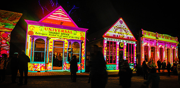 Sovereign Hill Winter Wonderlights AAR