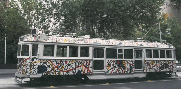 David Larwill W Class Tram 722 circa 1986