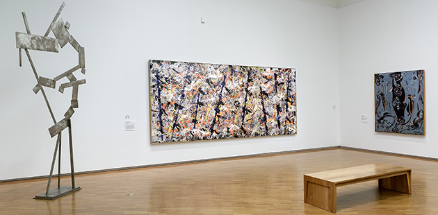 NGA American Masters (Installation view) at the National Gallery of Australia, Canberra
