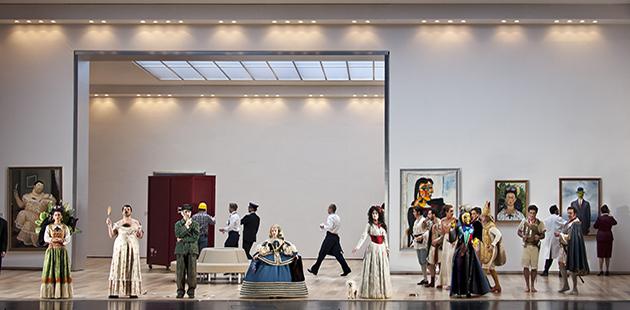 Opera Australia Il Viaggio a Reims - photo by Clärchen and Matthias Baus