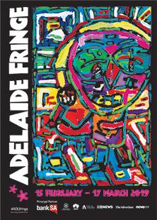 2019 Adelaide Fringe Poster Matthew Clarke