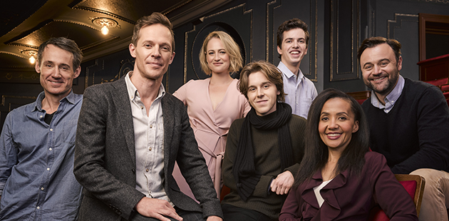AAR Australian cast of Harry Potter and Cursed Child at Melbourne's Princess Theatre - photo Ben King