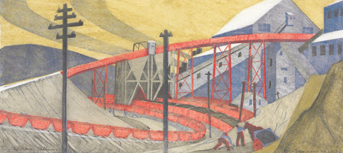 AAR Ethel Spowers, The works, Yallourn 1933