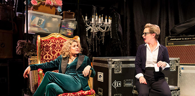 Bell Shakespeare The Misanthrope Danielle Cormack and Rebecca Massey - photo by Brett Boardman