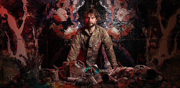 Ben Quilty - photo by Daniel Boud