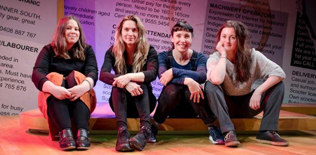 Ensemble Award Liz Arday, Janine Watson, Genevieve Hegney and Catherine Moore