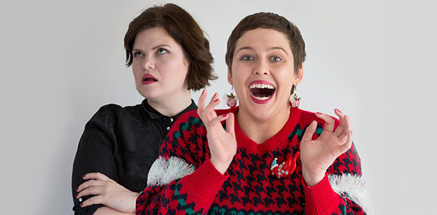 MF Natalie Bochenski and Amy Currie feature in Love Hate Actually AAR