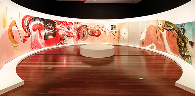 NGV Australia, Parallell Visions - photo by Amelia Stanwix