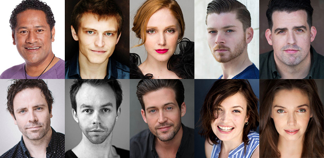 Peter Pan Goes Wrong Cast