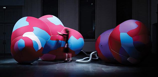 RMIT Gallery, Phil Ayres, Petras Vestartas, Danica Pistekova and Maria Teudt, Inflated Restrain, 2016