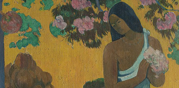 AGNSW Paul Gauguin, The month of Mary (Te avae no Maria), 1899 (detail)