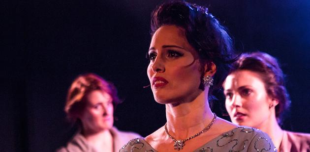Hayes Theatre Evie May Amanda Harrison, Loren Hunter and Bishanyia Vincent - photo by Nik Damianakis