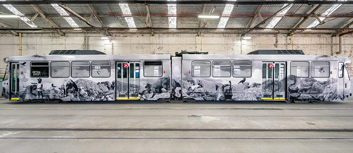 Melbourne Art Tram 2018 Hayley Millar-Baker