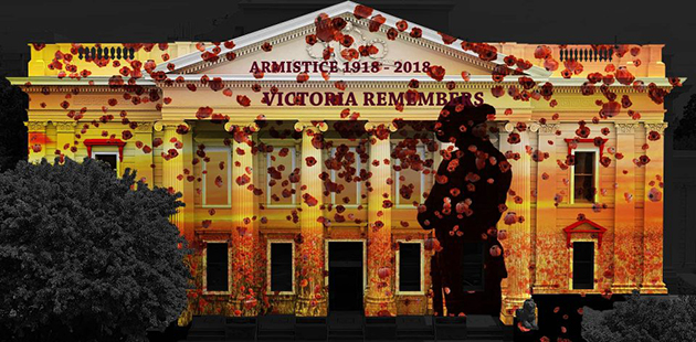 WNG The Armistice - Victoria Remembers