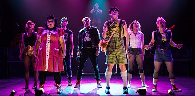 Circus Oz Rock Bang - photo by Mark Turner