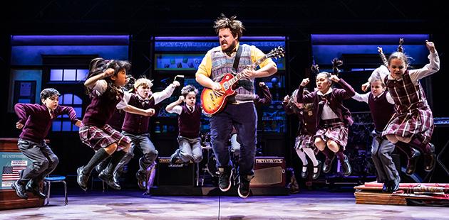 HMT School of Rock - photo by Matthew Murphy