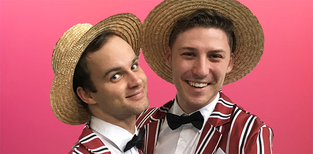 Just a Couple of Song and Dance Men Mikey Halcrow & Shay Debney