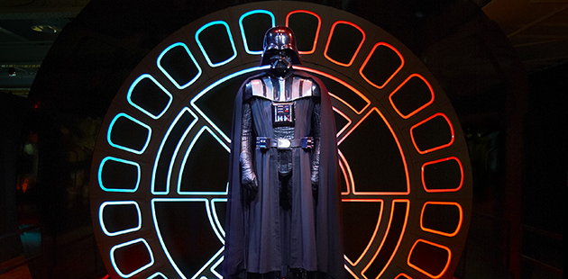 MAAS Star Wars Identities Darthvader (installation view)