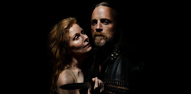 ASC Alison Whyte and Nathaniel Dean star in Macbeth - photo by Nicole Cleary