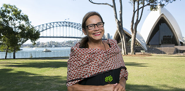 City of Sydney Rhoda Roberts AO - photo by Jamie Williams