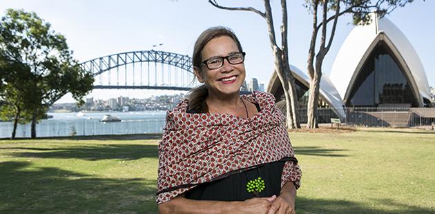 City of Sydney Rhoda Roberts AO - photo by Jamie Williams