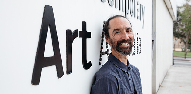 Create NSW MCA Visual Arts Fellow Denis Beaubois - photo by Daniel Boud