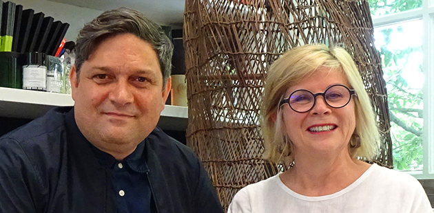 SF Wesley Enoch and Kerry Comerford - photo by Joan Cameron-Smith