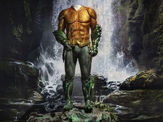 WBMW Aquaman Exhibition - Aquaman Suit