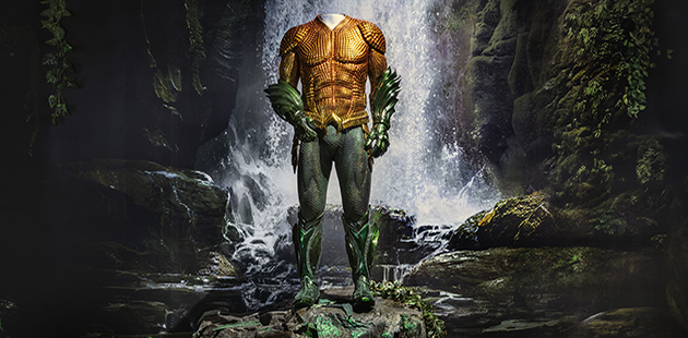 WBMW Aquaman Exhibition - Aquaman Suit