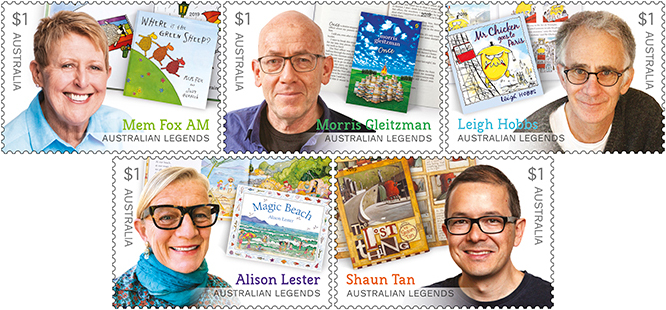 Australian Legends Stamps