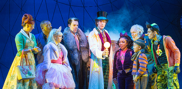 Charlie and the Chocolate Factory Cast - photo by Jeff Busby