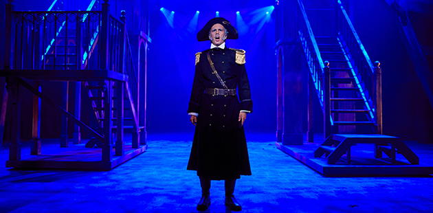 YABC Les Miserables Nicholas Sheppard as Javert - photo by Kit Haselden Photography