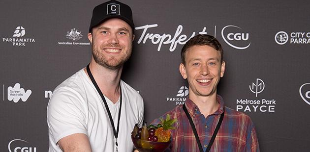 2019 Tropfest Winner Brendan Pinches (supplied)