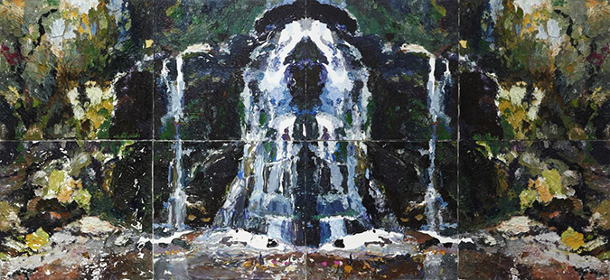 Ben Quilty, Fairy Bower Rorschach, 2012