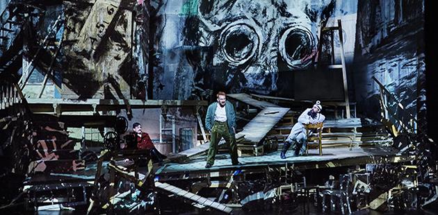 Opera Australia Wozzeck - photo by Keith Saunders