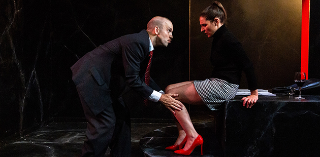Red Stitch Marcus McKenzie and Olivia Monticciolo star in Sweet Phoebe - photo byTeresa Noble photography