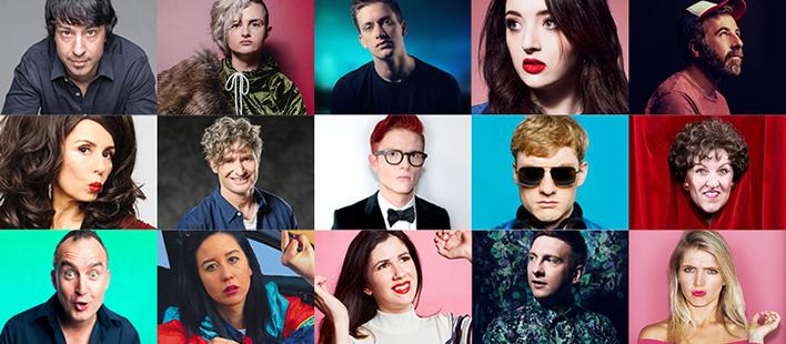 Sydney Comedy Festival 2019 Composite