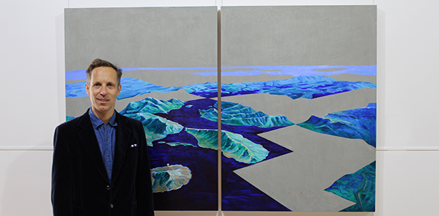 AAR Glover Prize 2019 Winner Piers Greville