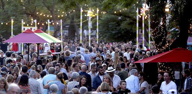 Adelaide Fringe Crowds - photo by Tony Virgo